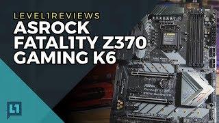 aSRock Fatal1ty Z370 Gaming K6 Motherboard Review  Linux Test