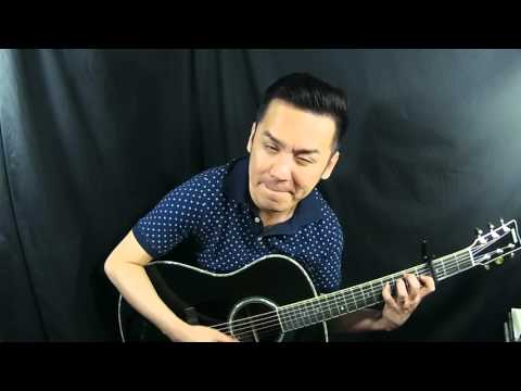 Yamaha LL16D Black A.R.E Technology Guitar Review in Singapore