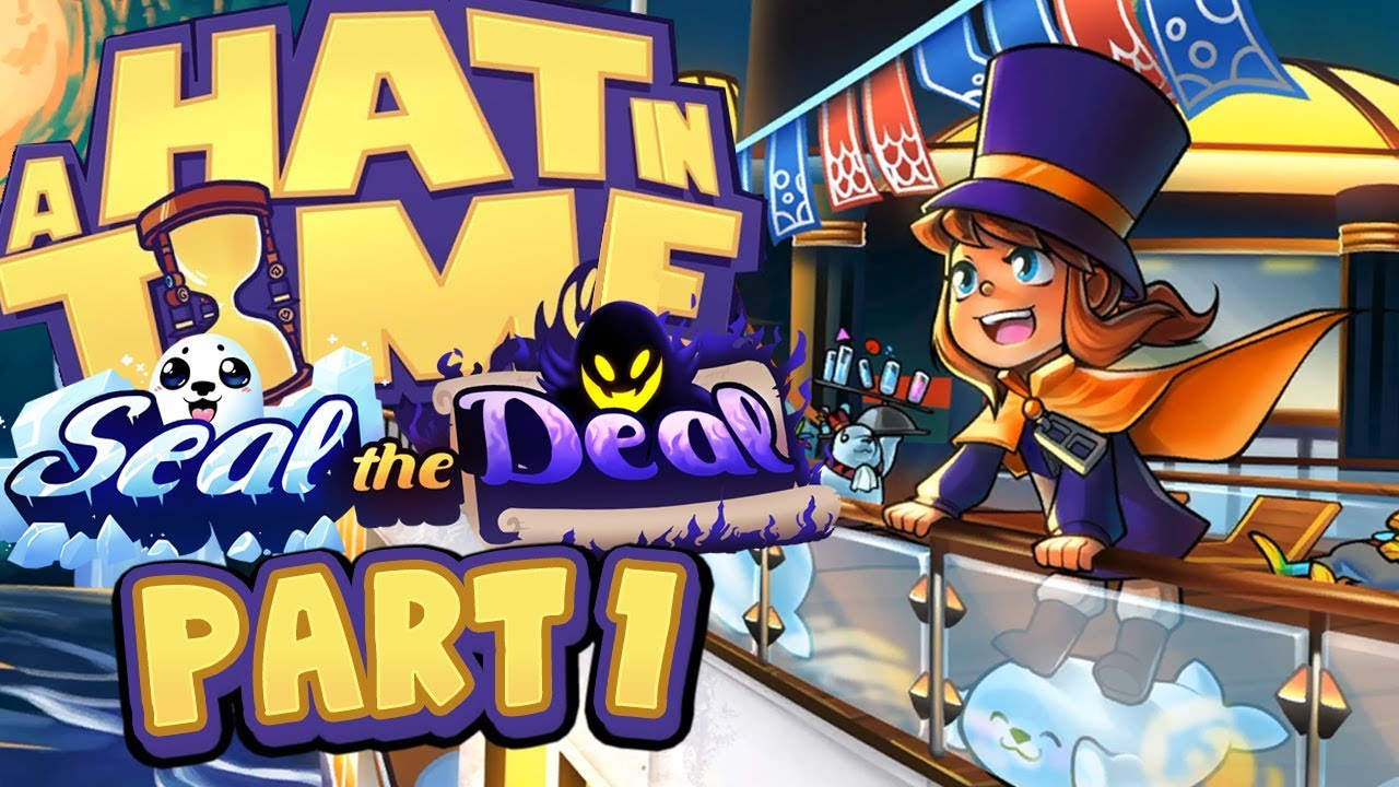 f1acba96f9904 A Hat In Time - Seal The Deal DLC - Part 1 (Act 1) - YouTube