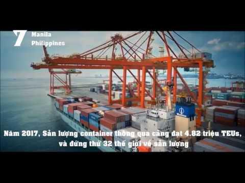 Top 9 Cảng biển nhộn nhịp nhất Đông Nam Á | Top 9 Busiest Container Ports in Southeast Asia