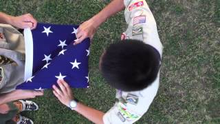 Proper United States Flag Etiquette and History