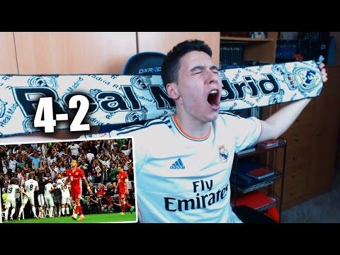 REACCIONES DE UN HINCHA Real Madrid vs Bayern Munich 4-2 CUARTOS DE FINAL CHAMPIONS LEAGUE  2017