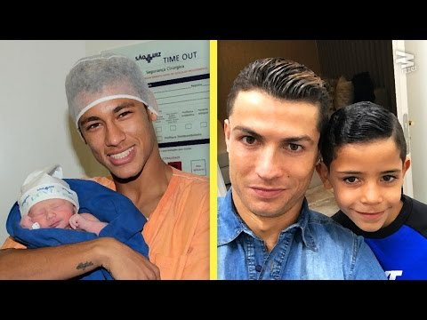 10 Footballer's Kids: Then & Now | Ft. Ronaldo, Messi, Neymar