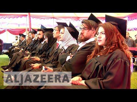 Kabul's American university students defiant despite violence