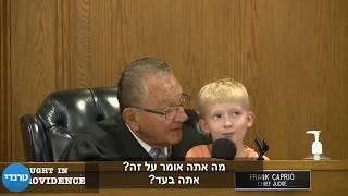 מדהים! השופט הזה נתן לילד להחליט על העונש של אבא שלו