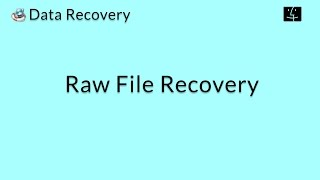 Data Recovery (Mac): Recover the Raw Data of Lost Files on Mac