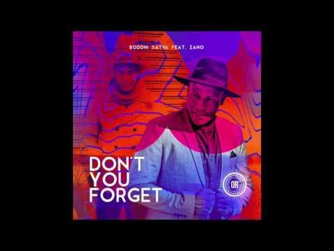 Boddhi Satva feat. Zano - Don't You Forget (Main Mix)