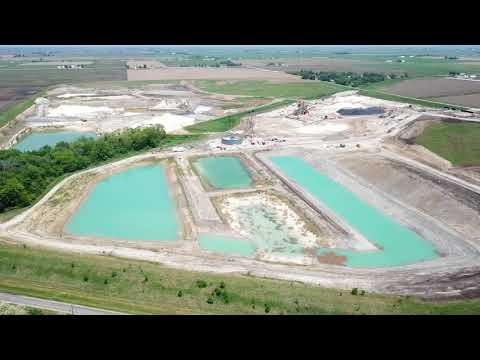 Northern White Sand's Frac Sand Mine, LaSalle County, Illinois