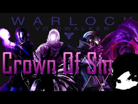 Perfected Void WARLOCK Build- PVE - Crown Of Sin -  DESTINY 2 - SEASON 7