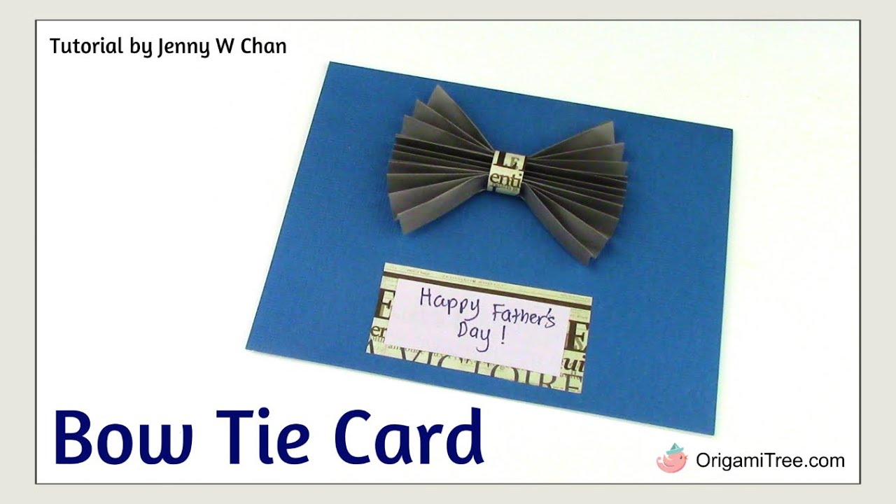 How to tie cards