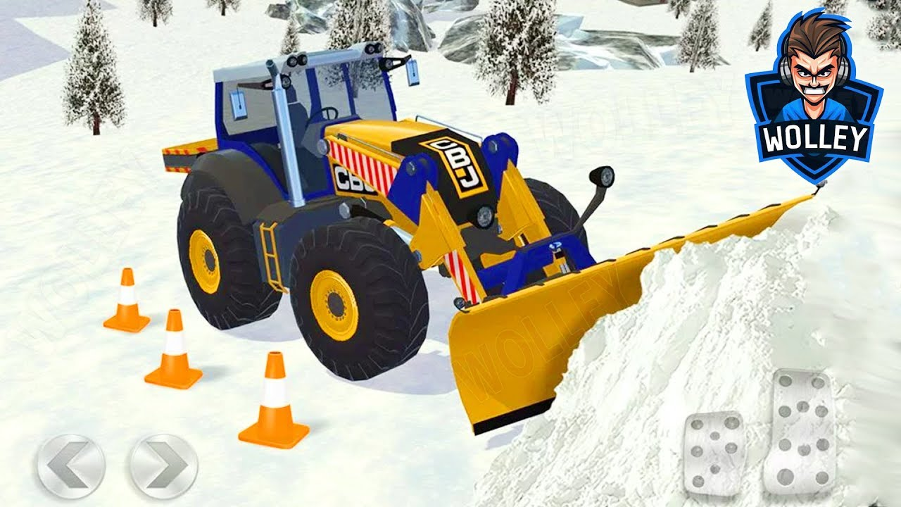 ski resort driving simulator mini cooper plow tractor. Black Bedroom Furniture Sets. Home Design Ideas