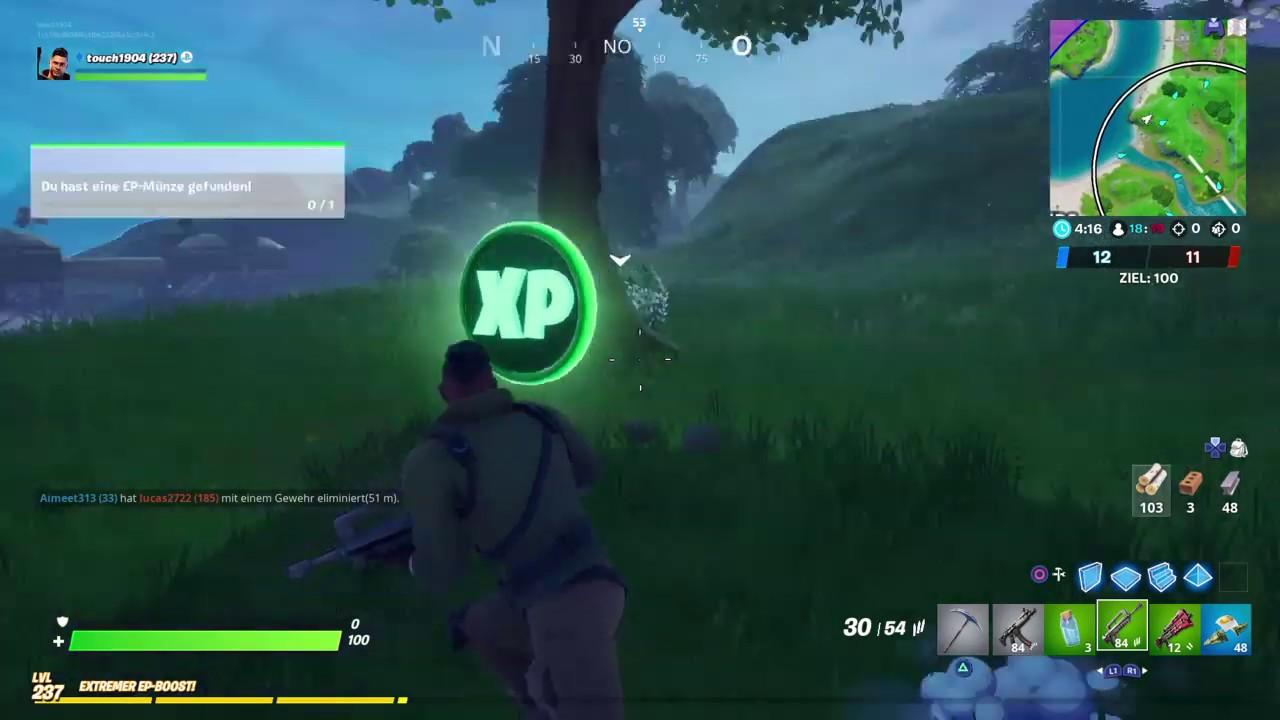 Fortnite || New XP Drop #3-- Mission: Zusätzliche Ziele ...