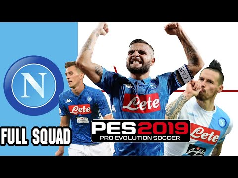 PES 2019 S.S.C Napoli Players Overall Ratings
