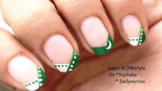 Independence Day Nail Art: Pakistan Nail Designs