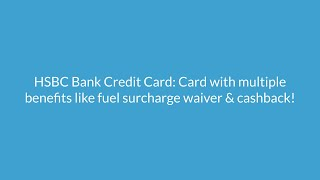 HSBC Credit Card: Apply Online, Check Eligibility - 07