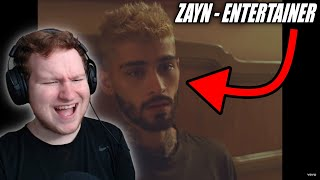 FIRST TIME HEARING ZAYN - Entertainer (Official Video) REACTION!!!!