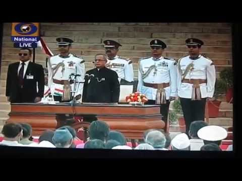 Narendra Modi's swearing-in ceremony, May 26, 2014