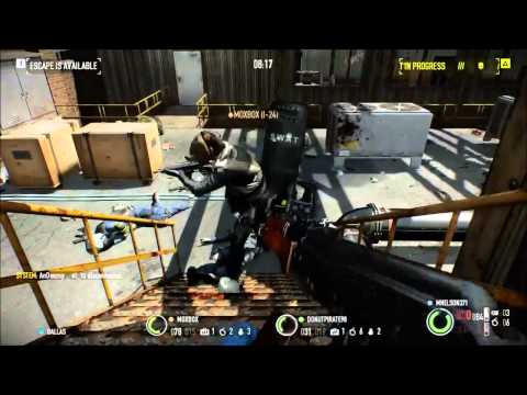 PayDay2- transporting coke and getting chased by the michelin man!