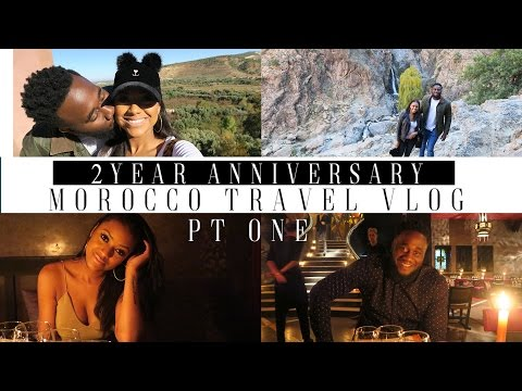 FIRST TIME AWAY WITHOUT BABY| 2 YEAR ANNIVERSARY TRAVEL VLOG| MOROCCO