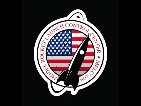 Custom model rocket launch control center.