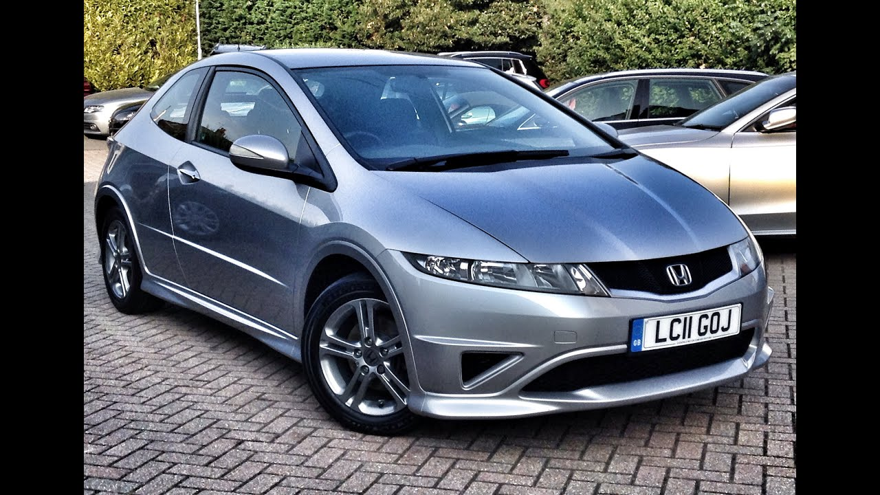 honda civic 1 4 i vtec type s 3dr for sale at cmc cars near brighton sussex youtube. Black Bedroom Furniture Sets. Home Design Ideas
