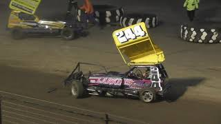 Brisca F1 Stock Car Racing- Kings Lynn- 19.10.2019- Whites/Yellows Race