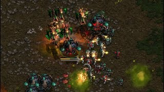 IdrA (T) v Paradise (Z) on Fighting Spirit - StarCraft  - Brood War REMASTERED