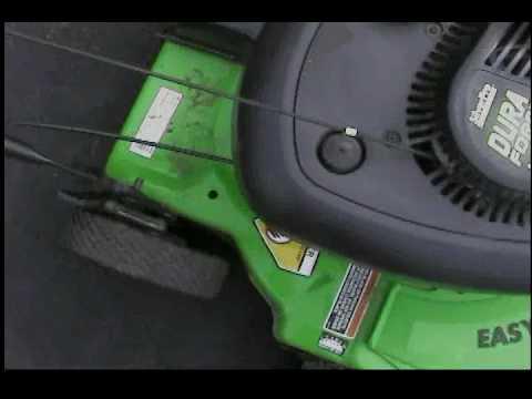 The Lawn Boy Dura Force Lawn Mower