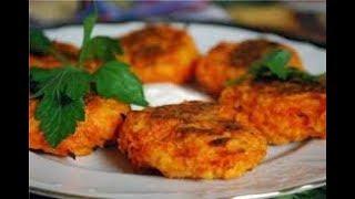 Морковные котлеты, рецепт, родом из детства