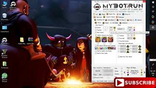 Bot Clash Of Clans - my bot run 7.6.2 latest version