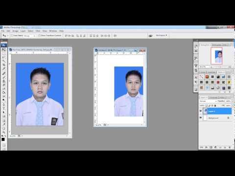 Cara Mengubah Ukuran Pas Foto dan Pixle Foto - Tutorial Photoshop