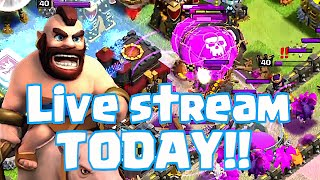 clash of clans live stream today w q