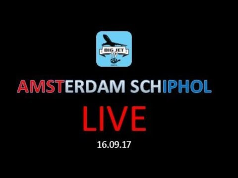 Big Jet TV LIVE @ SCHIPHOL on September 16th 2017!