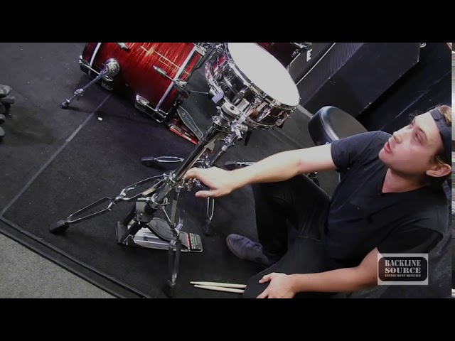 How To Set Up A Drum Kit with Backline Source Instrument Rentals