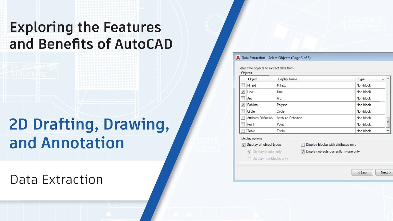 Data Extraction: Exploring the Features and Benefits of AutoCAD