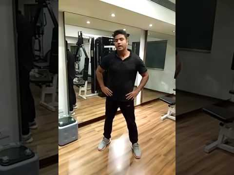 Warmup steps before exercise, learn from  Fitness Trainer Rukhsar Akhtar