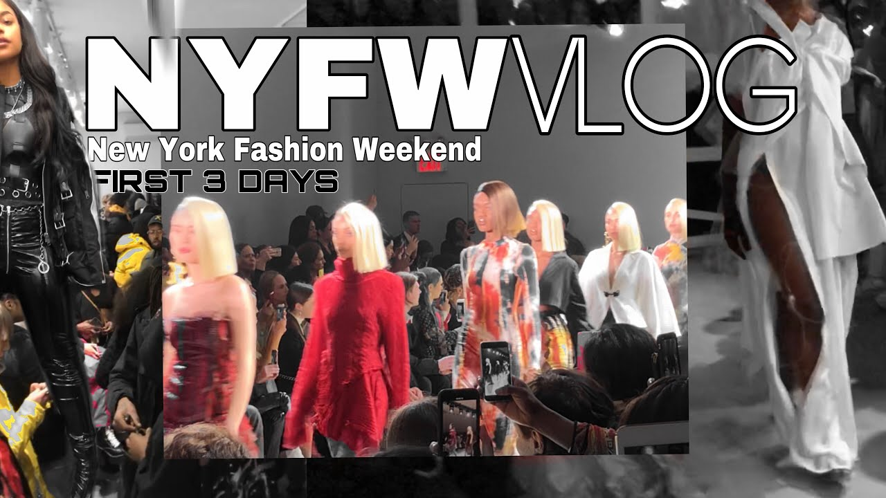 NYFW WEEKEND VLOG | NEW YORK FASHION WEEK SHOWS  || ARIANA.AVA