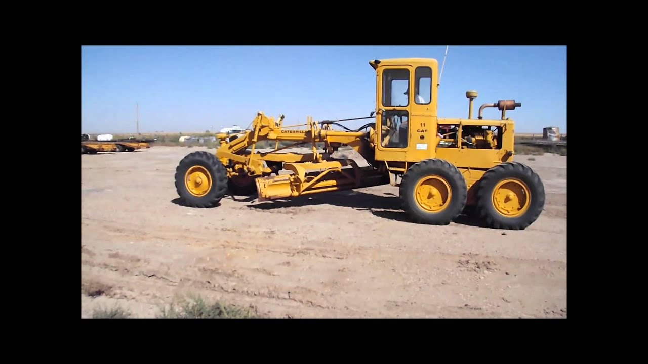 1962 caterpillar 12 motor grader for sale sold at