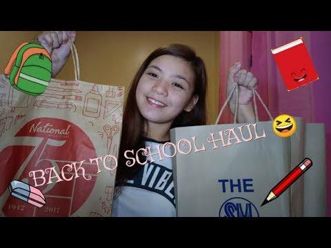 Vlog #1 Back to School Haul 2018!! (Philippines) thumbnail