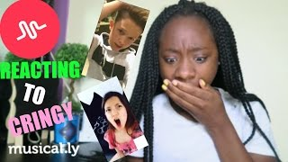 CRINGY MUSICAL.LY REACTION PART 2 |