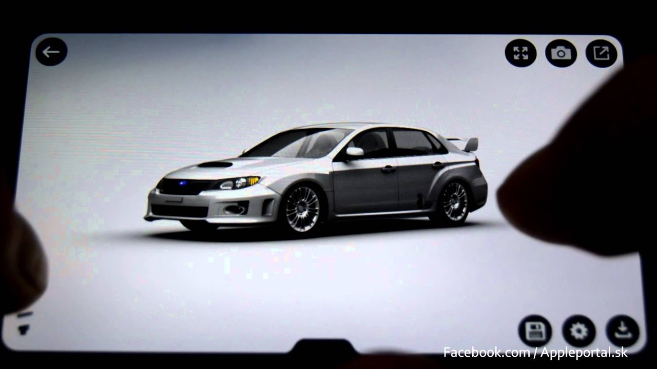 3D CAR CONFIGURATOR on Apple iPhone REVIEW