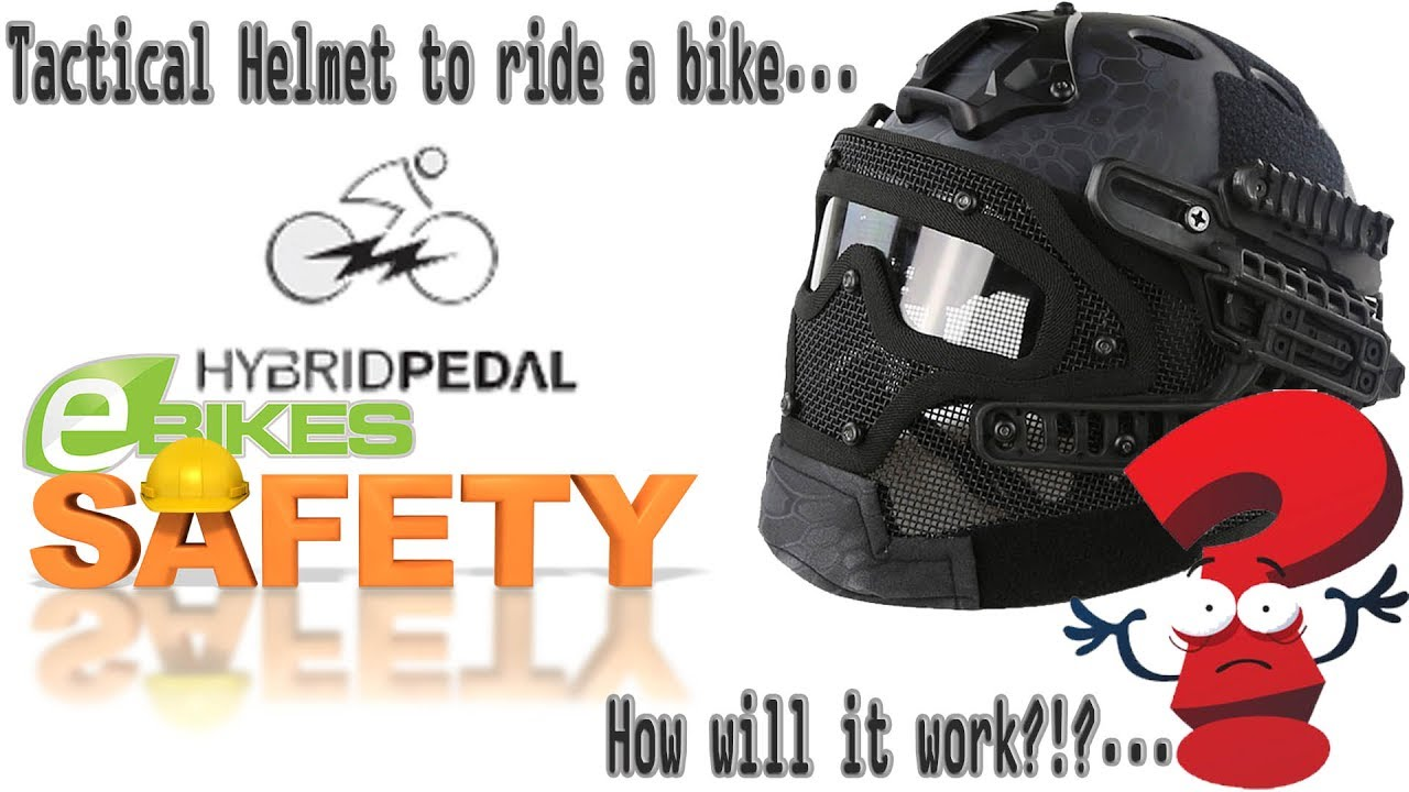 eBike Project | Gaiden | Tactical Helmet for Bicycle Riding?!? Unbox/First  Impressions/Review