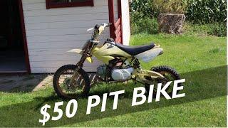 $50 Craigslist 125CC Pit Bike - Can We FIX It???