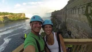 Niagara Falls Zip Line 2016 720p