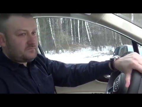New Audi Q7 2016 тест драйв расширенный 15 тыс км