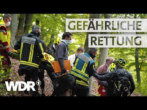 Mountainbiker im Wald verunglückt | Staffel 4 | Feuer & Flamme | WDR