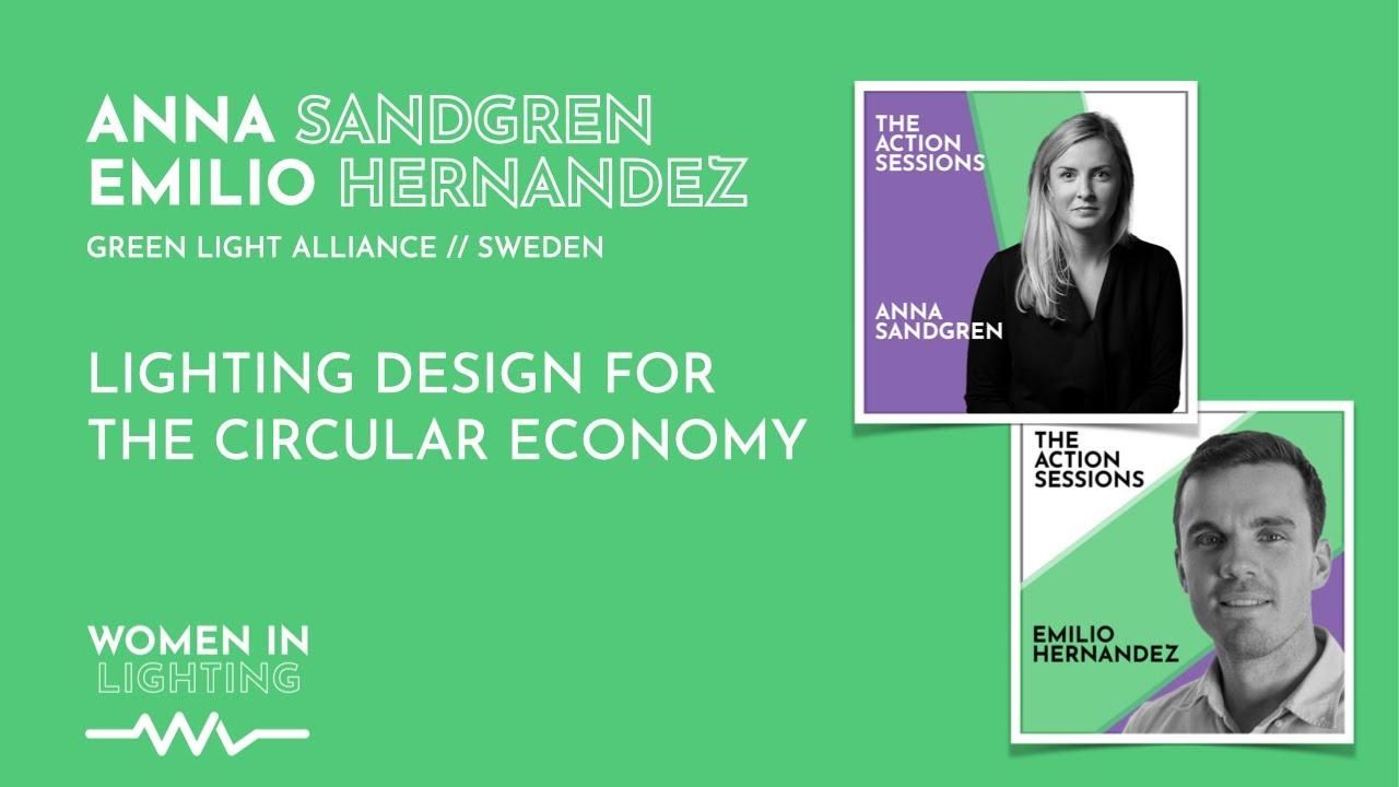 lighting design for the circular economy women in lighting global gathering