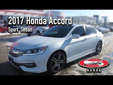 **SOLD** 2017 Honda Accord Sport Sedan: Features & Walk-around (Sterling Honda)