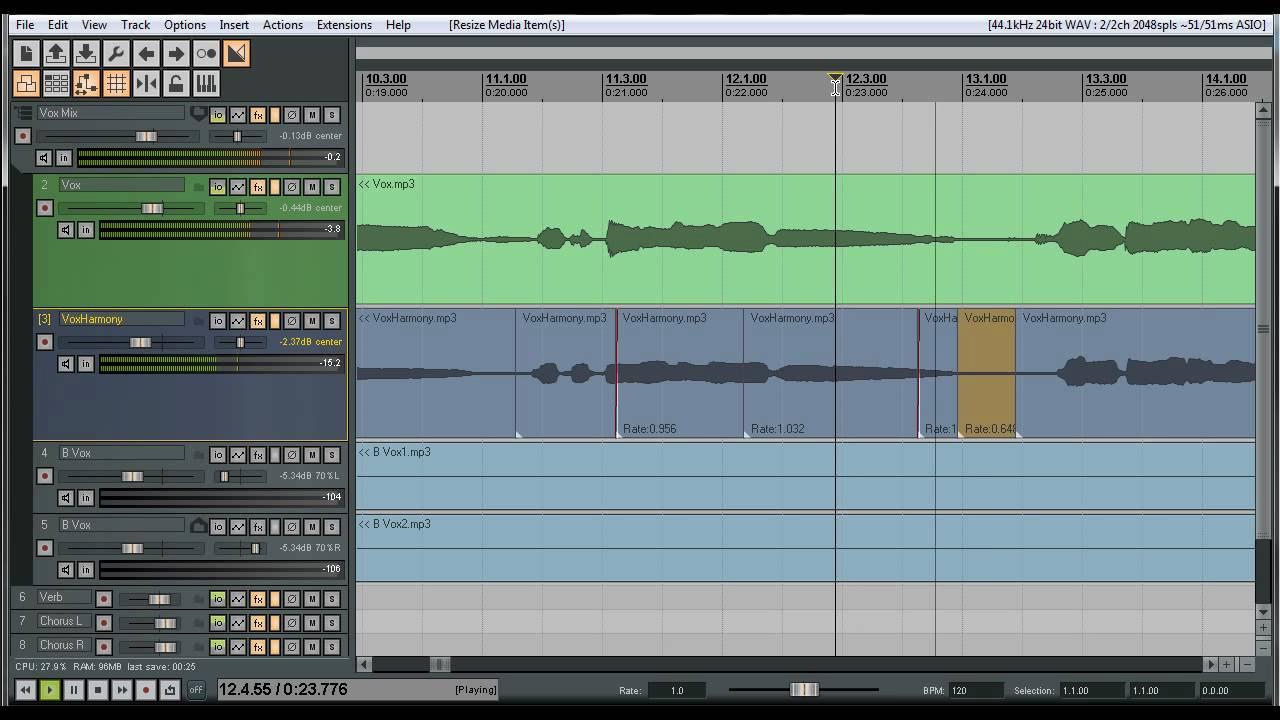 Tutorials For Reaper | Quick Start Guide | Video Walkthrough | Audio
