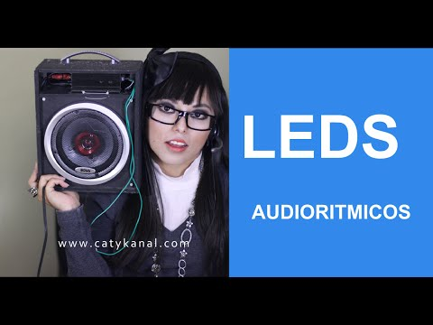 Thumbnail: Luces audioritmicas con 3 leds y transistor CATYKANAL